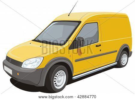 Delivery van - my design