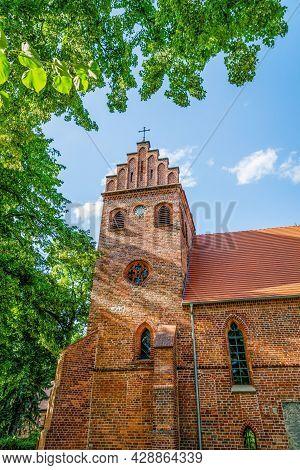 The Protestant Holy Spirit Church Or Heilig Geist Kirche In Teupitz, Brandenburg , Germany
