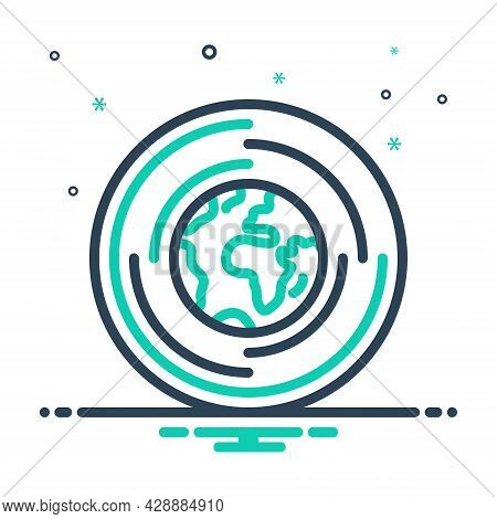 Mix Icon For Global-research Global Research Discovery Exploration Geography Worldwide Earth