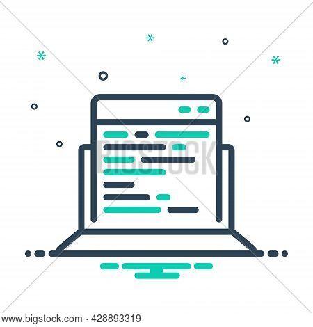 Mix Icon For Adaptive-coding Adaptive Coding Code Programming Script Html