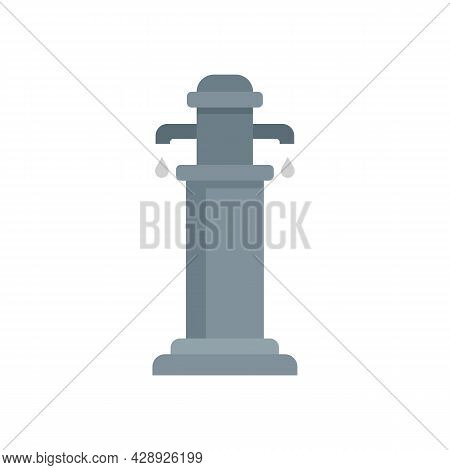 Water Pillar Icon. Flat Illustration Of Water Pillar Vector Icon Isolated On White Background