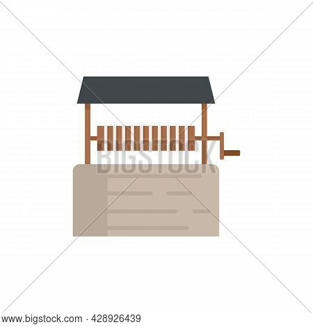 Water Well Icon. Flat Illustration Of Water Well Vector Icon Isolated On White Background