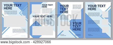 Product Proposal Brochure Template. Company Strategy. Flyer, Booklet, Leaflet Print, Cover Design Wi