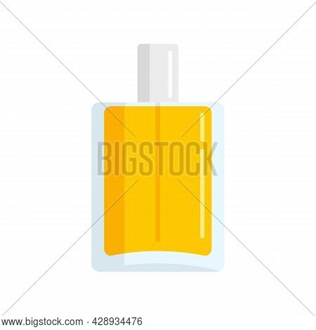 Duty Free Perfume Bottle Icon. Flat Illustration Of Duty Free Perfume Bottle Vector Icon Isolated On