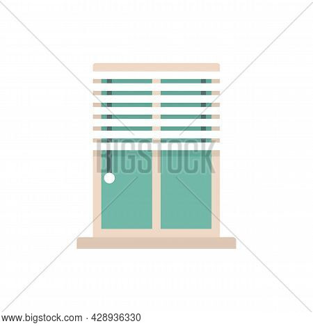 Window Installation Icon. Flat Illustration Of Window Installation Vector Icon Isolated On White Bac