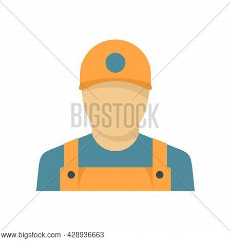 Window Installation Worker Icon. Flat Illustration Of Window Installation Worker Vector Icon Isolate