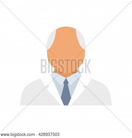 Psychologist Icon. Flat Illustration Of Psychologist Vector Icon Isolated On White Background