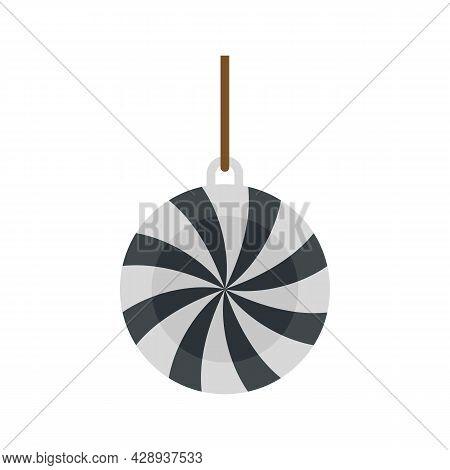 Relaxation Pendulum Icon. Flat Illustration Of Relaxation Pendulum Vector Icon Isolated On White Bac