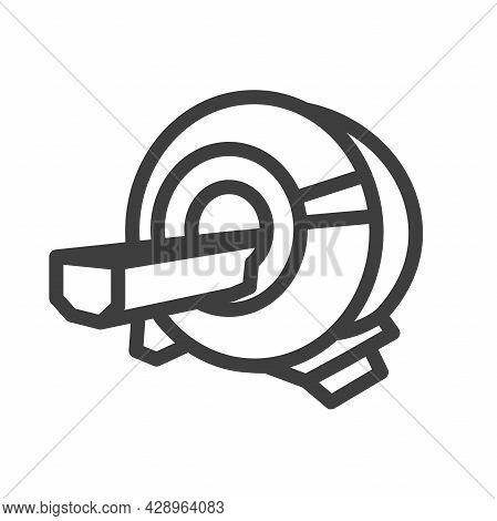 Mri Or Cat Scan Icon For Computed Tomography Or Ct Tech Ideas