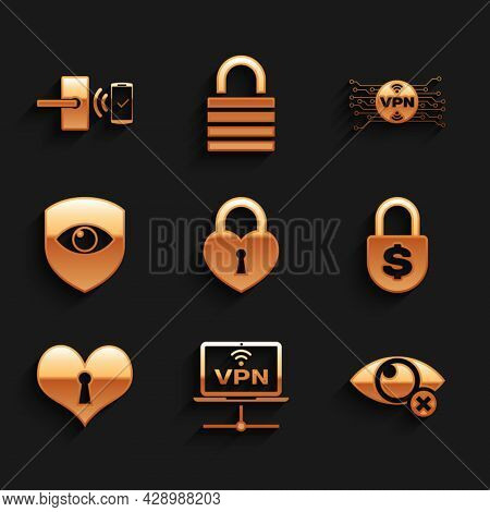 Set Castle In The Shape Of Heart, Vpn Computer Network, Invisible Hide, Money Lock, Heart With Keyho