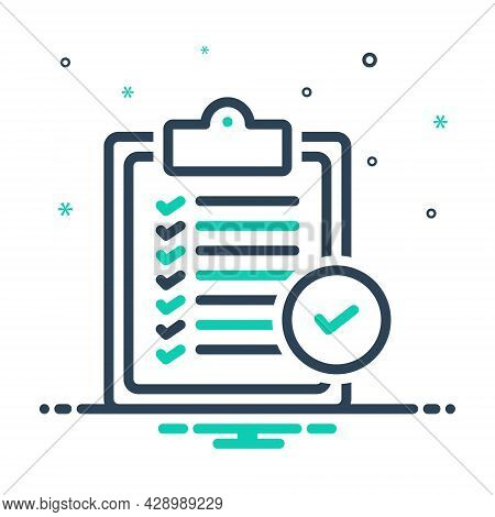 Mix Icon For Verification-of-delivery-list-clipboard Verification Delivery Clipboard Itinerary Dayti