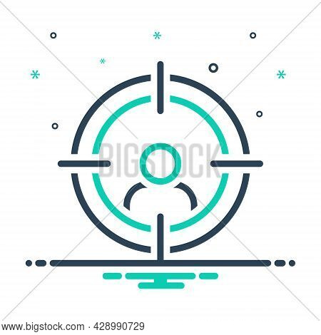 Mix Icon For Head-hunting Head Huting Destination Purpose Ambition Archery Archer Concentration Cros