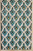 Beautiful colorful arabic style background, traditional pattern poster
