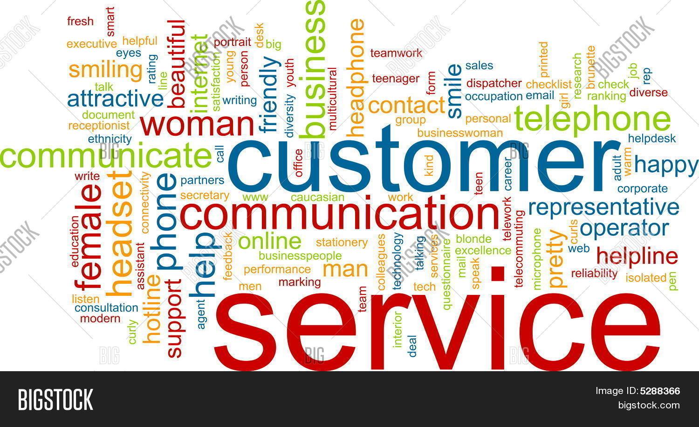Customer Service Word Image  U0026 Photo  Free Trial