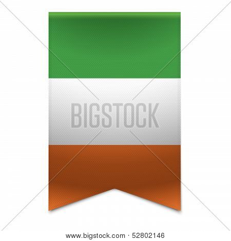 Ribbon Banner - Irish Flag