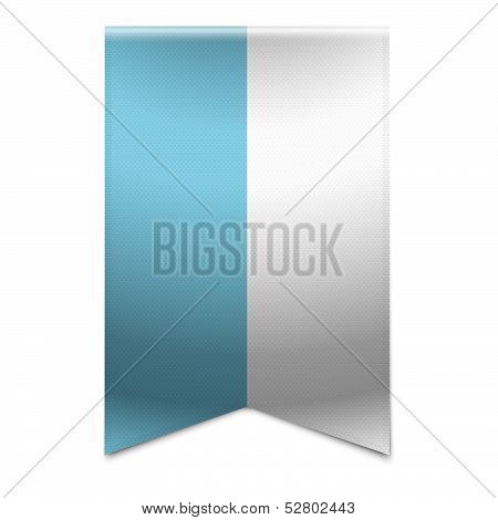 Ribbon Banner - Flag Of San Marino