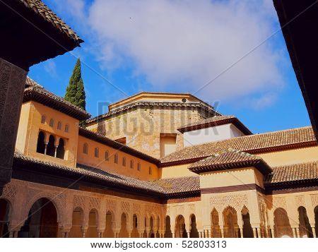 Palacios Nazaries In Granada, Spain