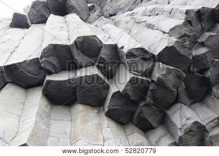 The Basalt Coulmns of Reynisfjara Beach, Iceland