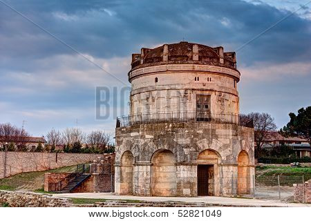 Ravenna - The Mausoleum Of Theodoric
