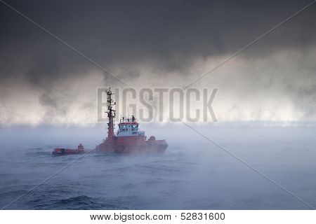 Sea In A Blizzard