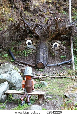 Trolls At Ziarska Dolina - Valley In High Tatras, Slovakia