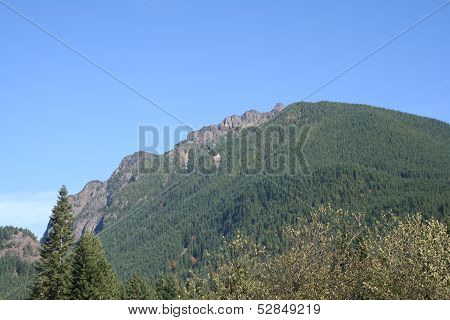 Mount Si at North Bend Washington