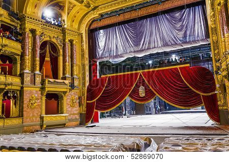 Old State Opera Opera House In Budapest