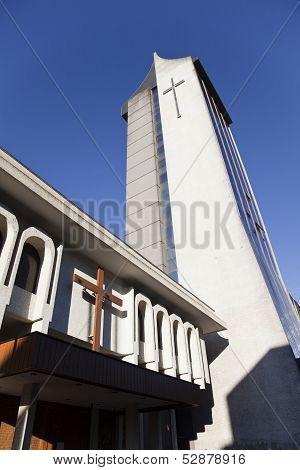 Modern Church At Temuco.