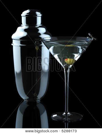 Martini With Shaker