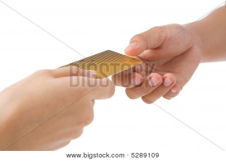 Paying Using Gold Credit Card