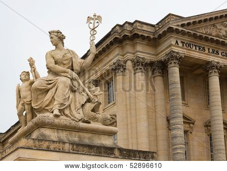 Sculpture At The Palace Of Versailles