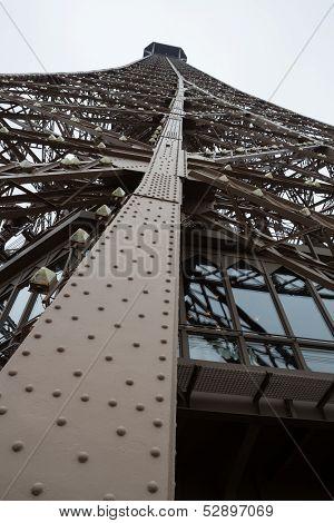 Eiffel Tower Leg Structure, Portait