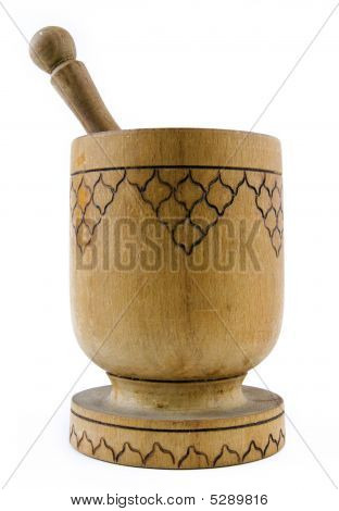 Wooden Pestle