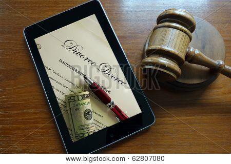 Divorce Screen