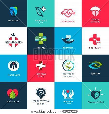 Medical icons & symbols set