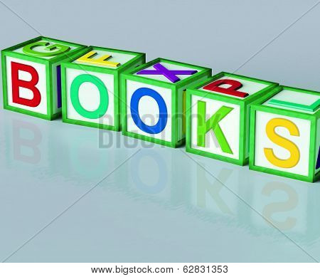 Books Blocks Shows Novels Non-fiction And Reading
