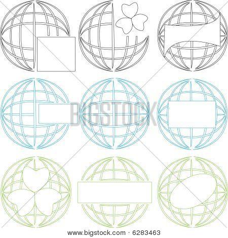 Terrestial Globe Set