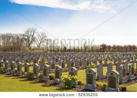 Cemetery Belgian Soldiers World War One