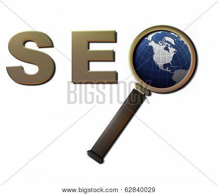 SEO Magnify (Globe)