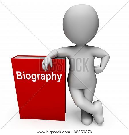 Biography Book And Character Show Books About A Life