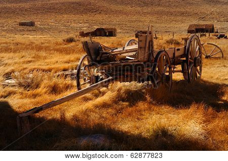 Ghost town Wagon