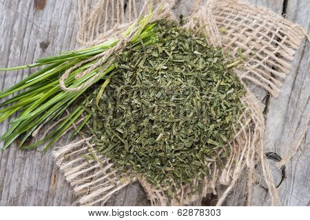 Portion Of Dried Chive