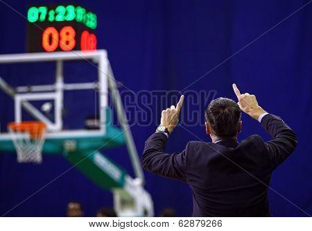 Ainars Bagatskis, Head Coach Of Budivelnik Kyiv