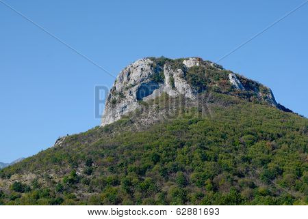 Stone Mountain In Croatia - Stock Photo