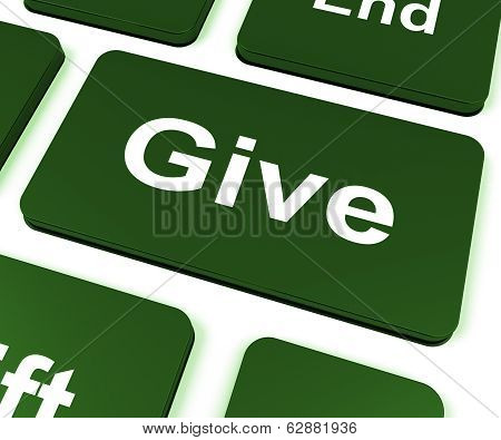 Give Key Means Bestowed Allot Or Grant