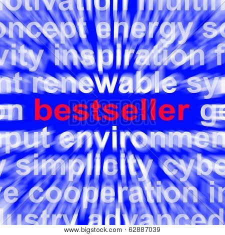 Bestseller Word Means Hot Favourite Or Most Popular
