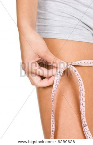 Woman With Measure