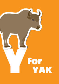 Y For The Yak, An Animal Alphabet For The Kids