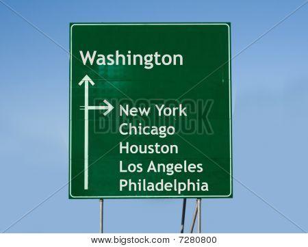 Road Sign Usa