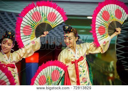Korean Traditional Dance in Bangkok - Korean Festival